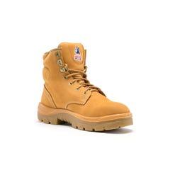 Steel Blue Argyle Ladies Boot - Wheat