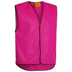 Bisley Hi Vis Vest - Pink