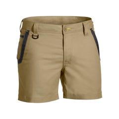 Bisley Flex & Move Short Short - Khaki