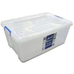 Award Pack N Stack Storage Container with Wheels 35L