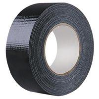 Heatleys Gaffa Tape (657) Black 48mm x 25m