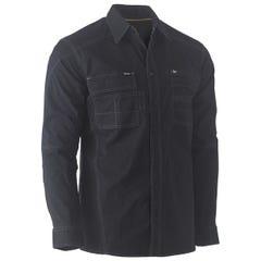 Bisley Flex & Move Utility Work Shirt - Long Sleeve - Black