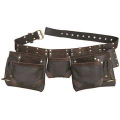 Craftright 12 Pockets Leather Tool Belt