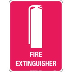 Fire Extinguisher (with Met pictogram) 150 x 225mm