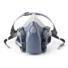 3M Half Facepiece Reusable Respirator 7501, Respiratory Protection, Small