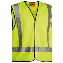 Bisley X Taped Hi Vis Vest - Yellow