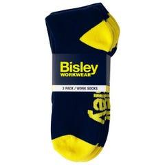 Bisley Work Socks - 3 Pack - Navy