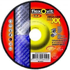Flexovit Cut-off Wheel Maxx D/c Ultra Thin Type 42 ZA 125mm x 0.8mm x 22.23mm