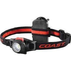 Coast HL7 Pure Beam Focusing LED Headlamp - 285 Lumens 3 X AAA