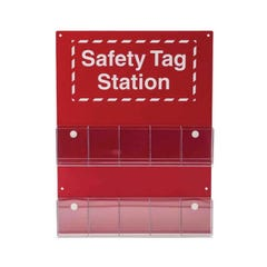 Brady Safety Tag Center 10 Pocket