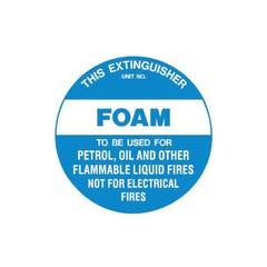 Brady Fire Disc - Foam 200mm Diameter