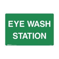 Brady Emergency Information Sign - Eye Wash Station H300mm x W450mm