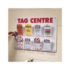 Brady Safety Tag Centre 8 Pockets