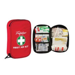 Brady Vehicle & Low Risk First Aid Kit With Soft Case Red