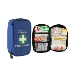 Brady Vehicle & Low Risk First Aid Kit With Soft Case Blue