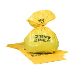 Brady Contaminated Waste Bags, 570mm x 960mm (Qty x 10)