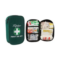 Brady Vehicle & Low Risk First Aid Kit With Soft Case Green