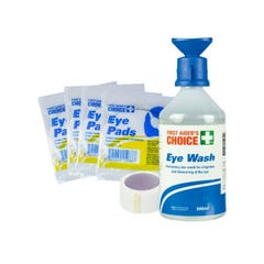 Brady First Aiders Choice Large Eye Injury Management Pack