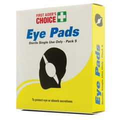 First Aider's Choice Eye Pads (Qty x 5)