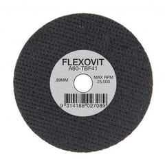 Flexovit Cut-off Wheel Iron Free Ultra Thin - Automotive Type 41 AO 76mm x 0.89mm x 9.53mm