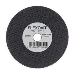 Flexovit Cut-off Wheel Iron Free Ultra Thin - Automotive Type 41 AO 76mm x 0.89mm x 6.35mm