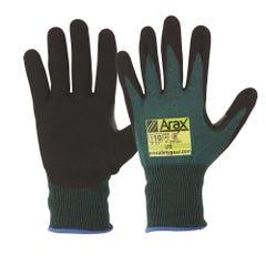 Pro Choice Arax Green Nitrile Sand Dip Palm