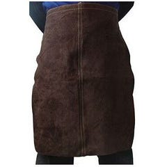 Torchmaster Leather Wlders Apron Charcoal Brown 61cm x 61cm
