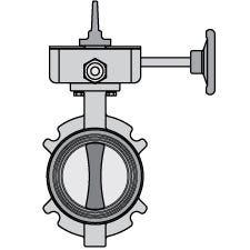 """AAP 10"""" Butterfly Valve Wafer Style"""