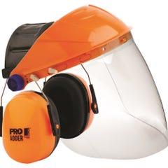 Pro Choice Striker Browguard + Clear Visor + Adder Earmuff Combo