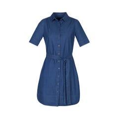 Biz Collection Delta Dress - Dark Blue