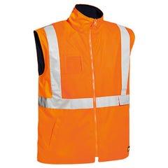 Bisley Hi Vis Wet Weather Vest - Orange