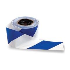 Pro Choice Barricade Tape - 100m x 75mm Blue & White