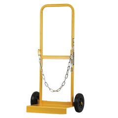 Bossweld Solid Tyre Cylinder Trolley G Size Rubber wheel