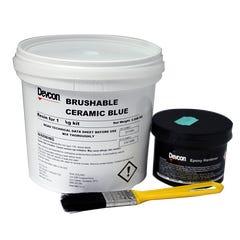 Devcon Brushable Ceramic Red Repair Liquid 1kg
