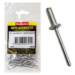 Champion Rivet Blind Aluminium 3.2 × 10.16mm (Qty x 50)