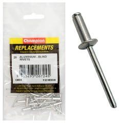 Champion Rivet Blind Aluminium 4.0 x 11.43mm (Qty x 25)