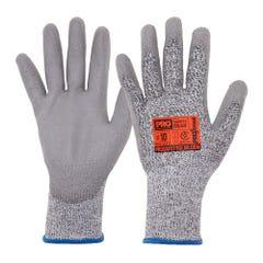 Pro Choice Dis Pro T5PUD Cut 5 Taeki Liner with PU Dip Palm Glove
