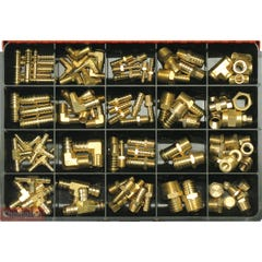 Champion Brass Hose Fittings Assortment (Master Kit)