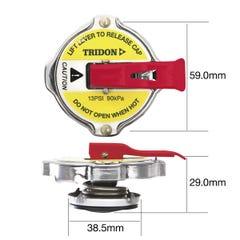 TridonRadiator Caps Safety Lever