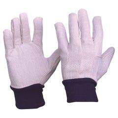 Pro Choice Cotton Drill Knit Wrist Gloves