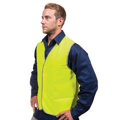 Tru Workwear Safety Vest – Day Use Only - Yellow