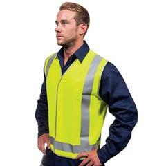 Tru Workwear Safety Vest – Day / Night Use - Yellow