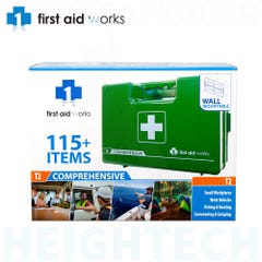 Vision Safe First Aid Works Comprehensive Hard Case First Aid Kit