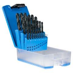 Sutton Blue Bullet D102-SETS Jobber Drill Set ABS Case Metric 29 Pieces