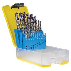 Sutton InOx D180-SETS Jobber Drill Set ABS Case Metric 19 Pieces