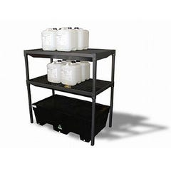 Spill Crew Shelf Rack For Drum Containment Bund – Two Drum