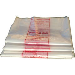 Spill Crew Disposal Bag For Contaminated Waste – Labelled
