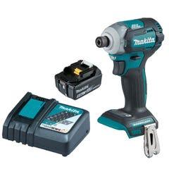 Makita 18V 5Ah 2 Piece Li-Ion Brushless Hammer Drill Driver & Impact Driver Kit