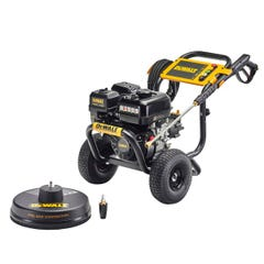 Dewalt Dewalt 3300PSI 9.4lpm Petrol Pressure Washer With 7.62m Pressure Hose