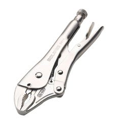 """Spear & Jackson Eclipse Locking Plier Curved Jaw with Cutter 10"""""""